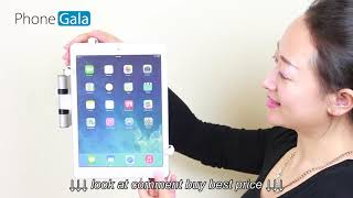 Universal Adjustable Tablet Mount Product Demostration For iPad or Most Tablets