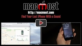 Find Your Lost iPhone With a Sound (#1260)