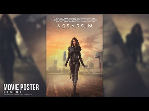 Create a Assassin Movie Poster Manipulation in Photoshop