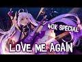 Nightcore - Love Me Again - RAYE (Lyrics) [40K Special]