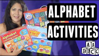 GIVEAWAY! Fun ALPHABET ACTIVITIES for Teaching Toddlers and Preschool - Lakeshore Learning