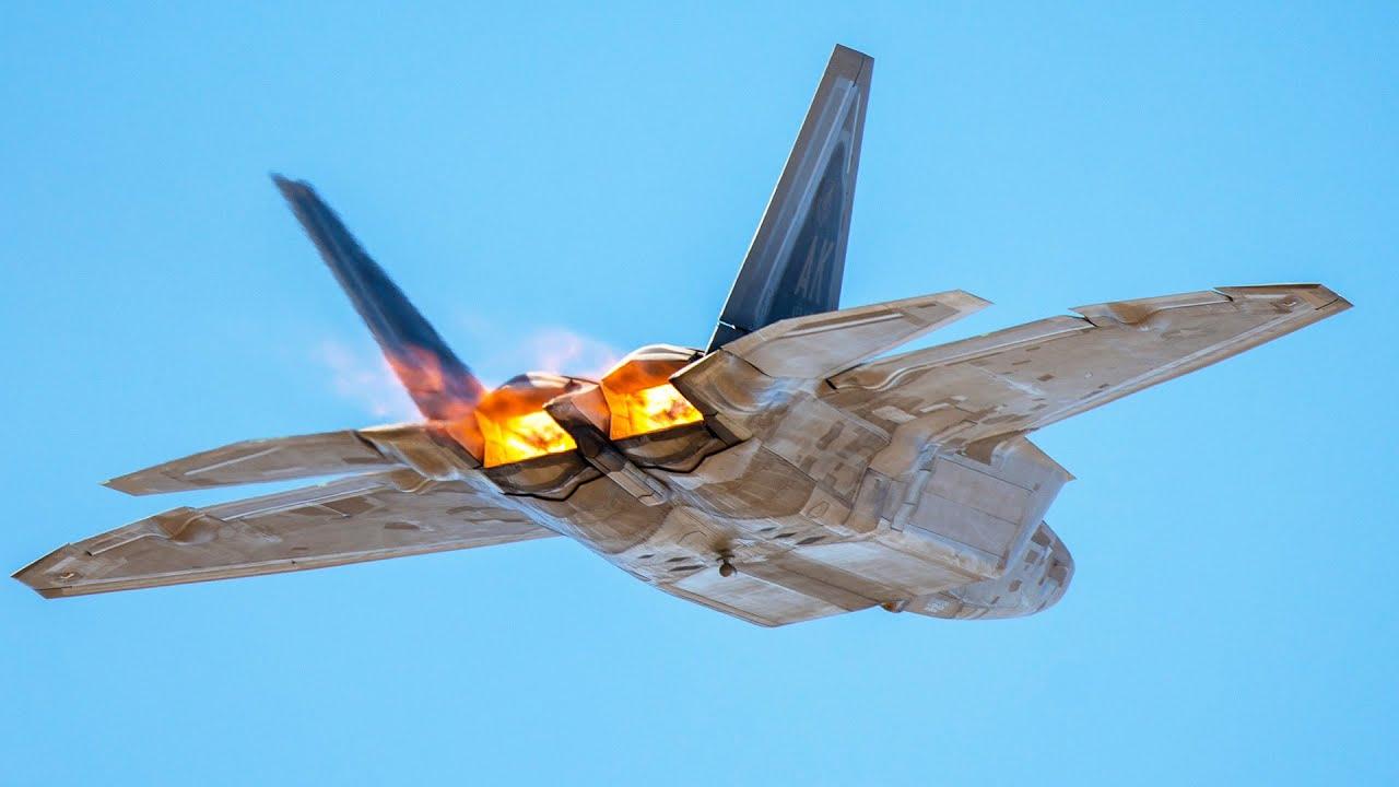 F-22 Raptor in All Its Beauty