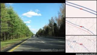 Fluvanna County to Goochland County (Louisa, VA)