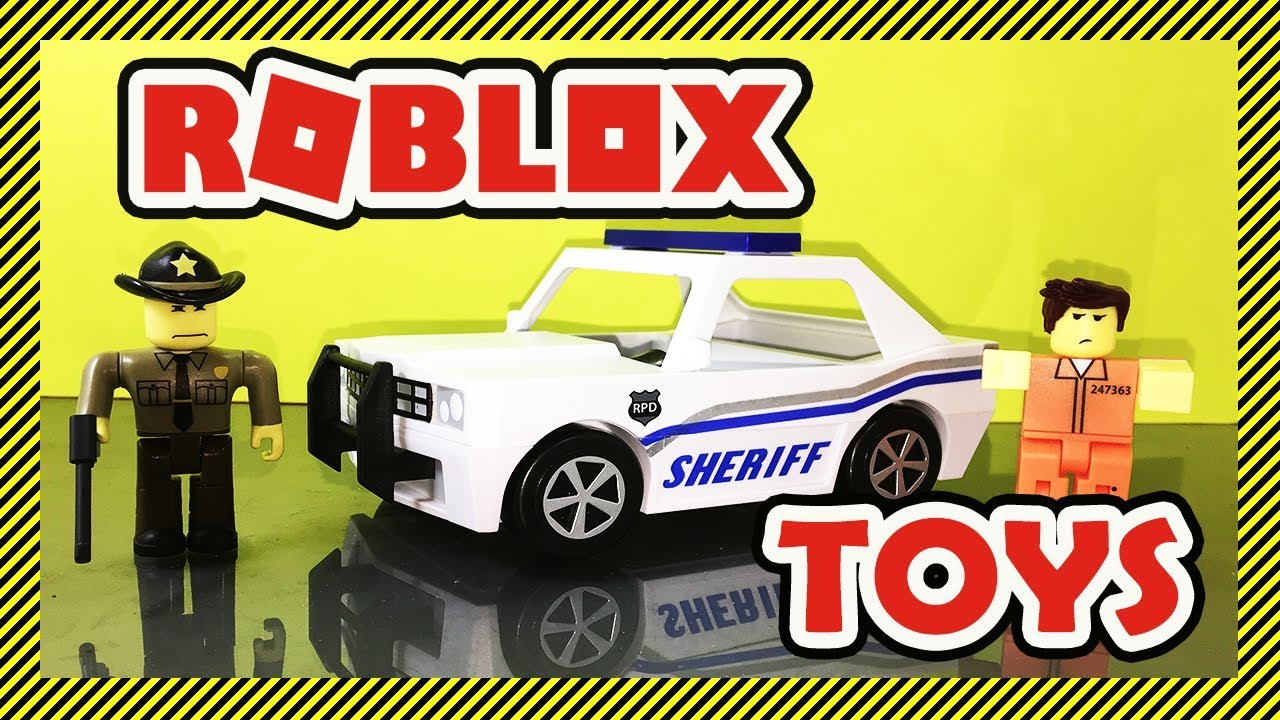 Roblox Toy Unboxing The Neighborhood Of Robloxia Patrol Car