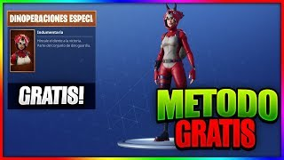 **FREE* NEW SKIN OF *SPECIAL DINOPERACIONES* IN FORTNITE! FREE PAVO Method!