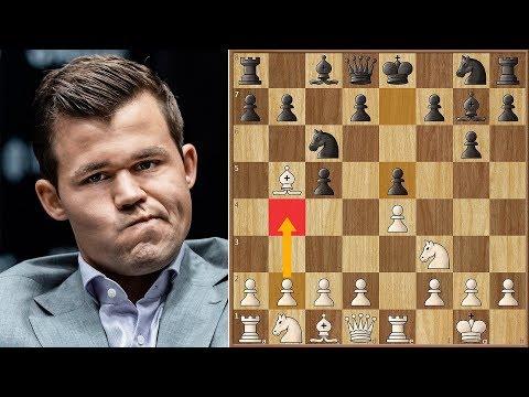Magnus' Favorite Player | Caruana Vs Carlsen 2018. | Game 5