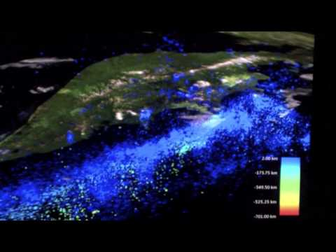 3D-Visualization of the Seismological Data