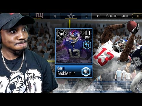 101 OVR MOST FEARED ODELL BECKHAM CATCHES EVERYTHING! Madden Mobile 19 Overdrive Gameplay Ep. 14