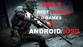 Top 5 android games sniper episode #4