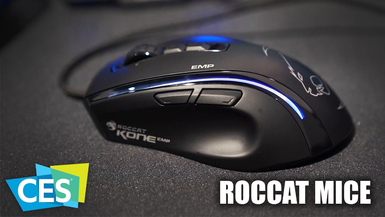 ROCCAT Kone Pure Opical Mouse Linux