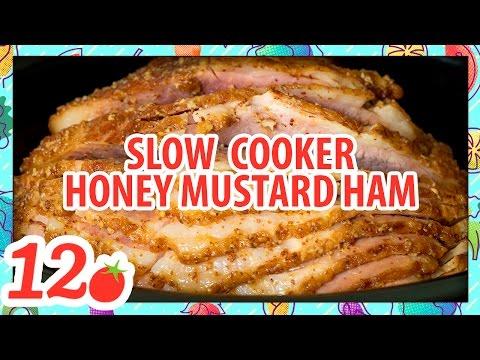 Slow Cooker Honey Mustard Ham Recipe