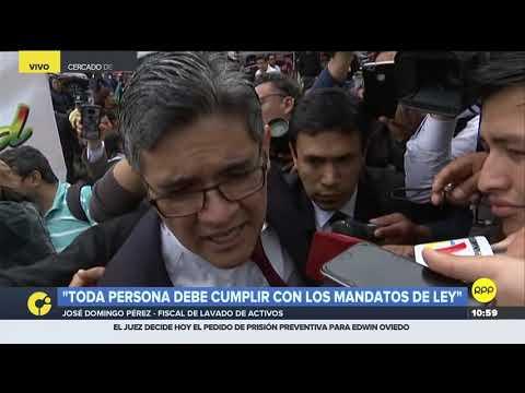 El fiscal José Domingo Pérez volverá a interrogar a Pedro Chávarry