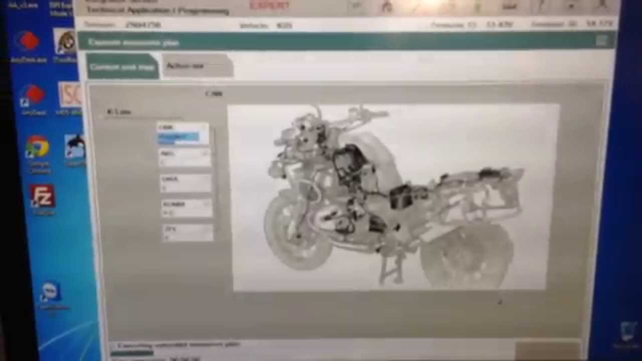 Clear Check Engine Light >> BMW motorcycle diagnostic and cooding - YouTube