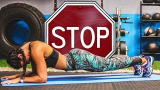 NEVER DO THE PLANK... (It can do more HARM than good.)