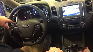 2018 Kia Forte interior features and functions video at Federico Kia Wood River, IL