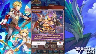 Dragalia Lost (Android) Trick or Treat Halloween Event 🎃👻🍬🍭🍫  - Online Co-op Play - Gameplay