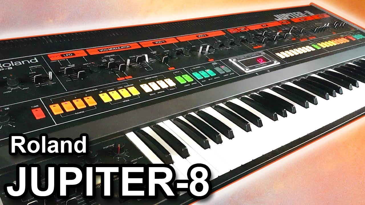 ROLAND JUPITER 8 Analog Synthesizer - Sounds & Patches 【SYNTH DEMO】
