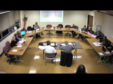 The Shelton Board of Education Budget Meeting from Jan. 12.