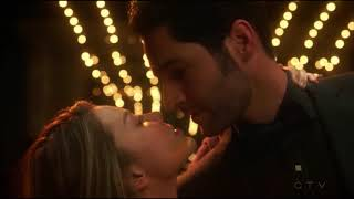 Lucifer 3x15 Chloe and Lucifer dance