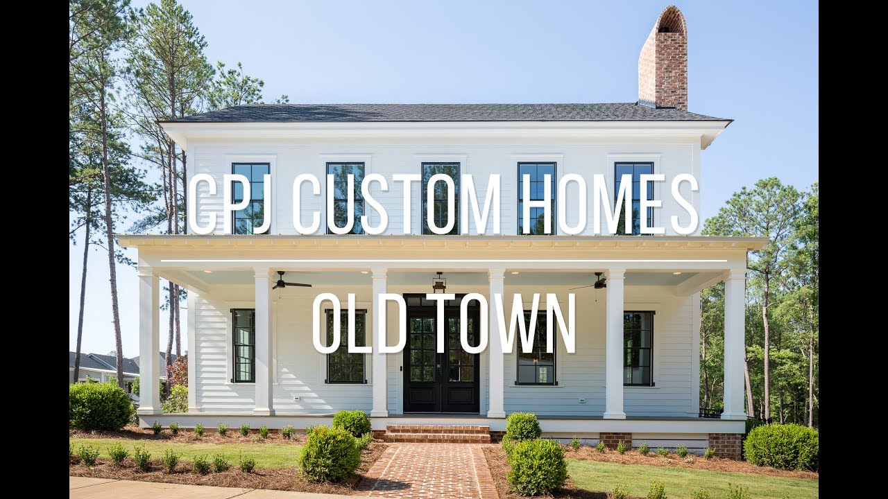 cpj custom homes old town columbus ga youtube. Black Bedroom Furniture Sets. Home Design Ideas