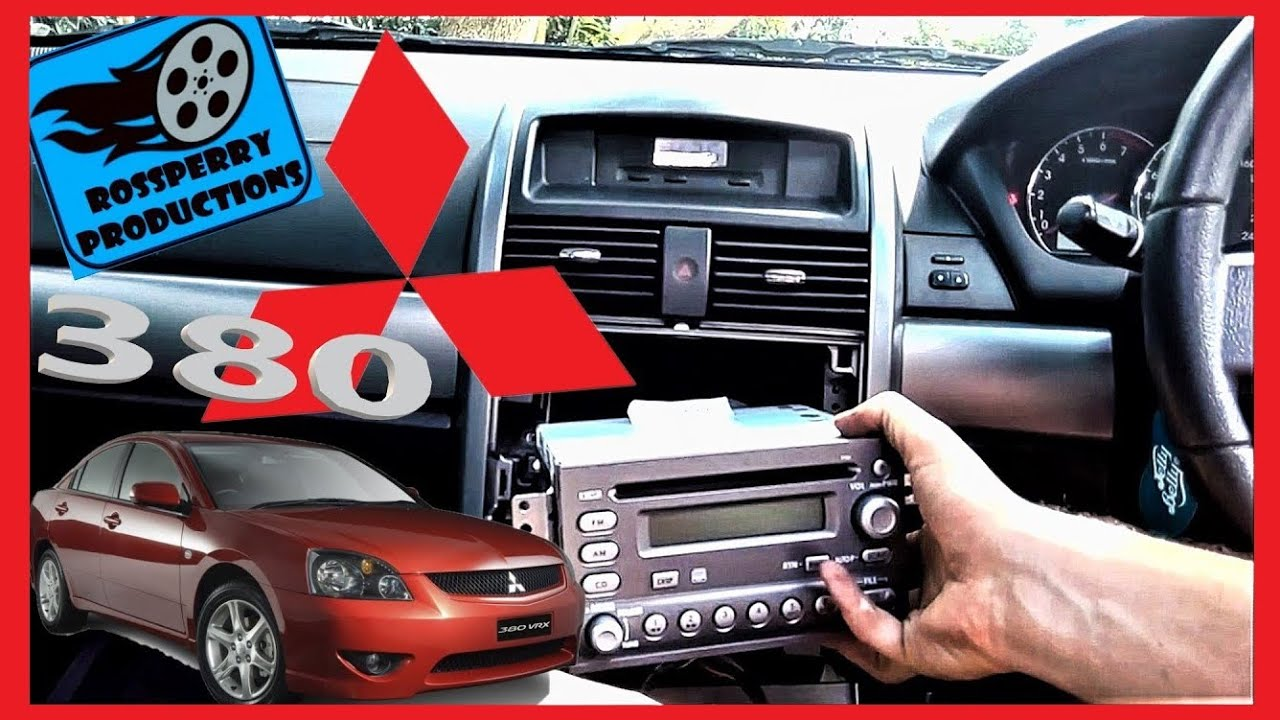 Mitsubishi 380 Radio Wiring Diagram Trusted 2000 Eclipse How To Change Car Stereo Cd Mp3 Removal Rh Youtube Com 2002