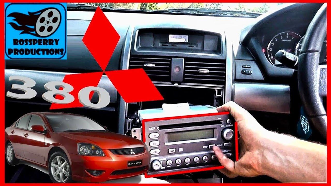 How To Change Mitsubishi 380 Car Stereo Cd Mp3 Radio