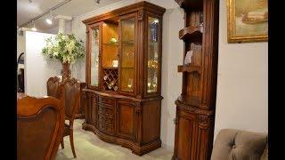 Видео обзор: Барный шкаф Монтана, классика, массив дерева