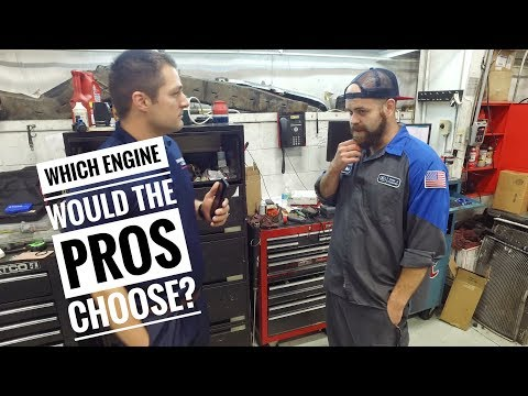 Which F150 engine would a Ford Technician pick?