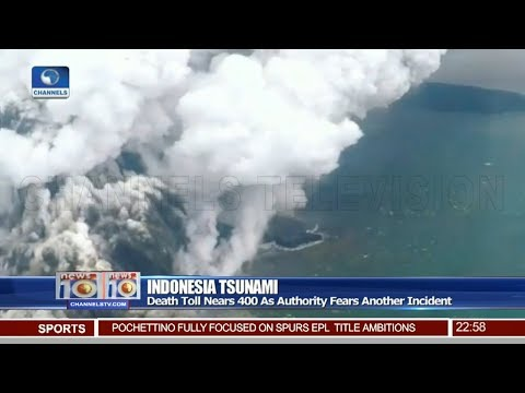 Indonesia Tsunami Death toll Nears 400 As Authority Fears Another Incident 24/12/18 Pt.4 |News@10|
