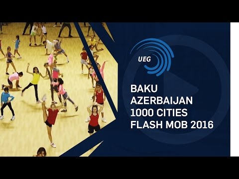 Baku, Azerbaijan - 1000 Cities Flash Mob 2016