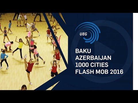 Baku, Azerbaijan - 1000 Cities Flash Mob 2016