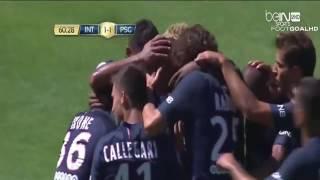 Lavyin Kurzawa Amazing Free Kick ~ Inter Milan vs PSG 1 2 ~ 24 7 2016 Challange Cup North America