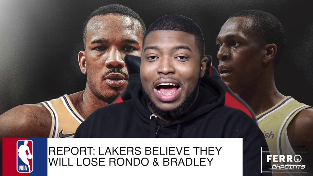 Avery Bradley, Rajon Rondo leaving Lakers in free agency