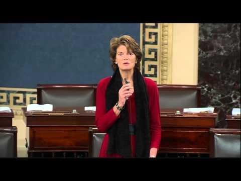 Murkowski Delivers Floor Speech After Rabbi Greenberg Opens Senate