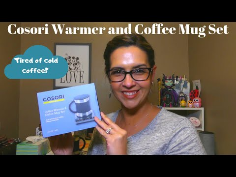 cosori-coffee-mug-warmer-&-mug-set-review