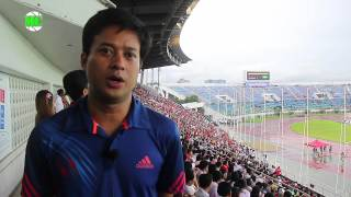 Celebrities Support Myanmar's Team, played friendly match against New Zealand