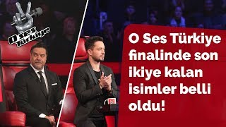 izleyici oylarına göre son ikiye kalan isimler... | 33.Bölüm | O Ses Türkiye 2018