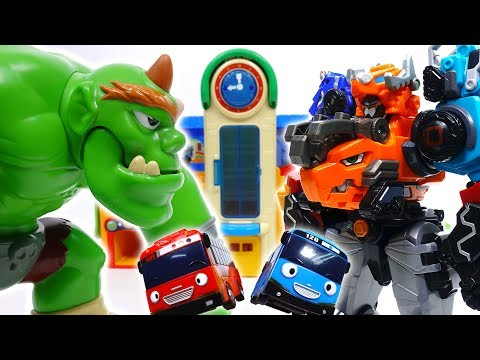 Thumbnail: Go Go Dino-Core 2, Defeat Monster Bugs & Giant Ogre~!