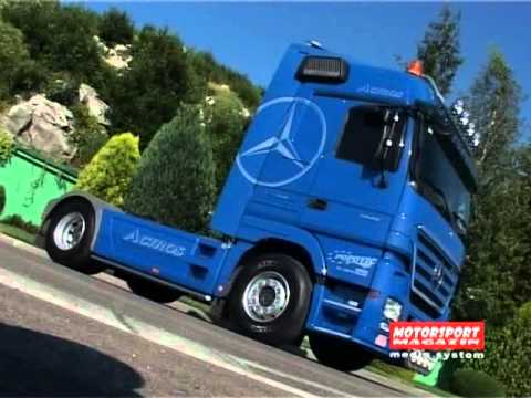 Mercedes Benz Actros 1846 - TEST REVIEW - Motorsport Magazin by Zeljko ...