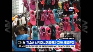 Vendedores denuncian los abusos de los fiscalizadores