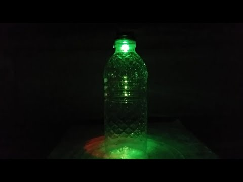 How To Make Party Light With Bottle |  By 3 Minute Diy | 3minutediy |