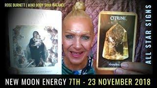 New Moon Energy 7th - 23 November 2018: Fresh Starts & True Love