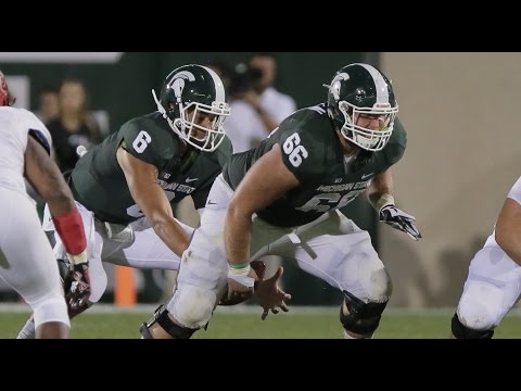 Jack Allen (Michigan State) vs. Ohio State (2015)