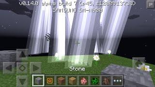 Minecraft PE.Tutorial 8:Cara membuat petir Dahsyat#10