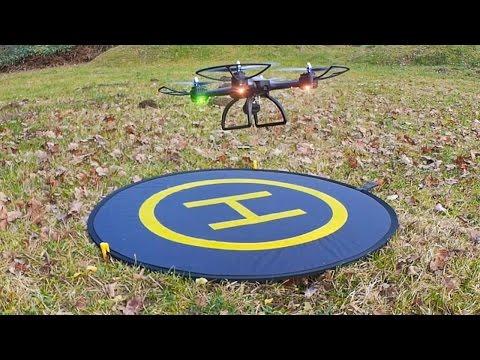 PGY Drone Landing Pad - Faltbare Quadcopter Landeplattform von Lightake.com // Vorstellung & Test