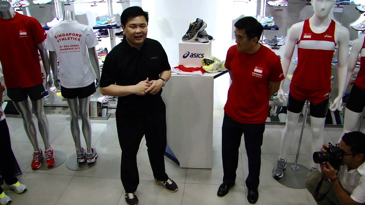 Mr. Andy Zhao   Mr. Tang Weng Fei speech - Asics and SAA ties sponsorship  deal 0770f55002