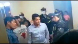 Chiclayo: intervienen a tres policías en una fiesta durante el toque de queda