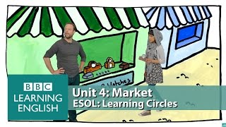 Learning Circles - Market: Vocabulary to use when buying and returning things