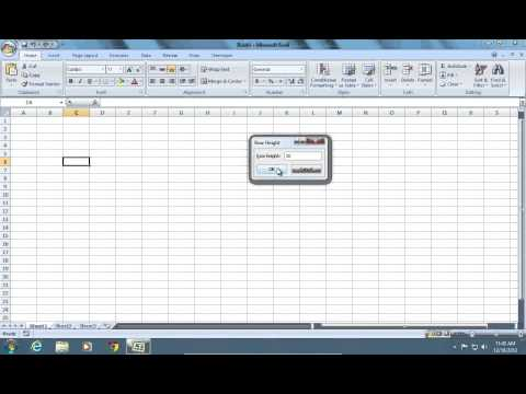 how-to-change-excel-2007-cell-size