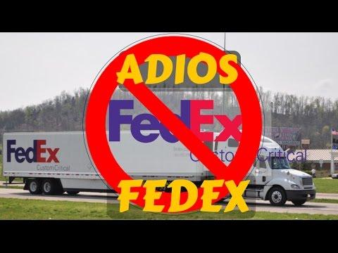 Adios FEDEX - Mas les presento MI NUEVO TRAILER